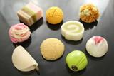 月乃舎の季節の上生菓子イメージ